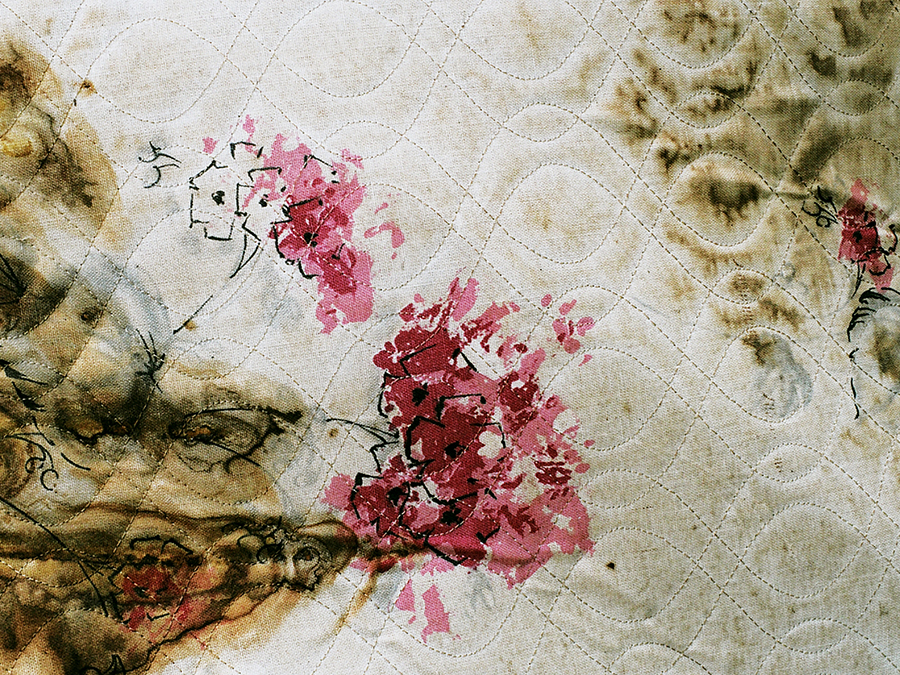 pattern floral embroidery decay
