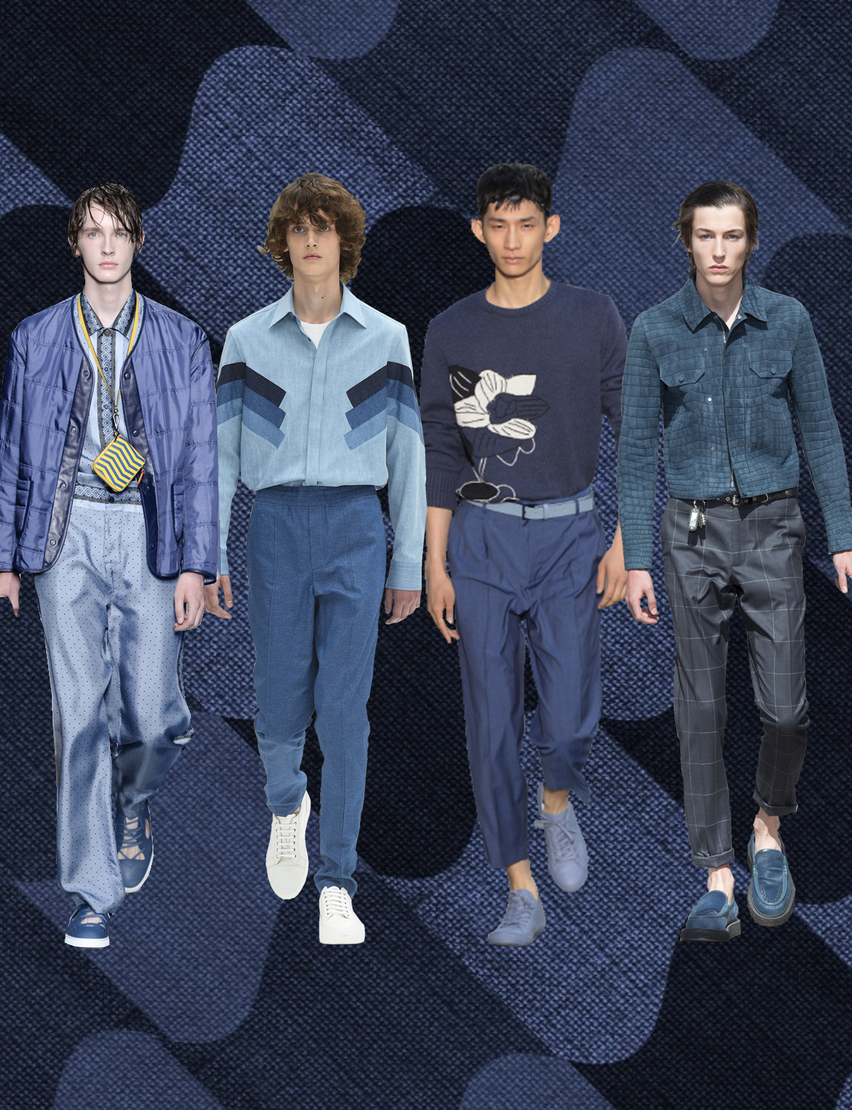 ss17, trend, forecasting, color, color forcast, print, silkscreen, fashion, womenswear, dress, pants, spring, summer, party, merchandising, knit, stripes, blue, color block, chambray, navy, aqua