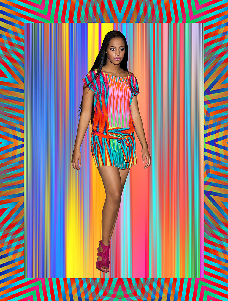 psychedelic, digital print, textiles, surface design, screen print, SS2016, summer 2016, resort 2016, women's fashion, fashion, runway,